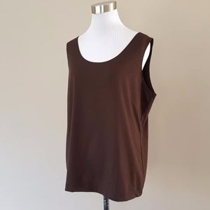 Chico's Plus Size 3 Brown Pullover Original Tags